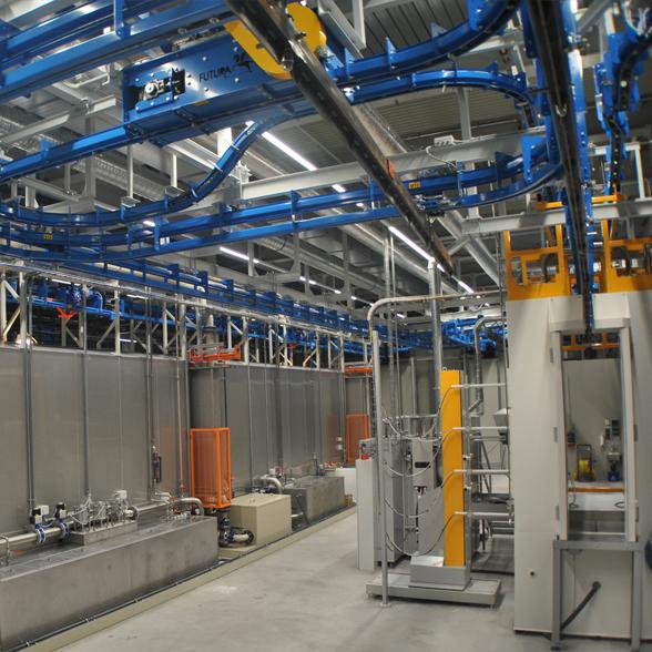 TEKIMP - Pulverbeschichtung systeme, Schweiz