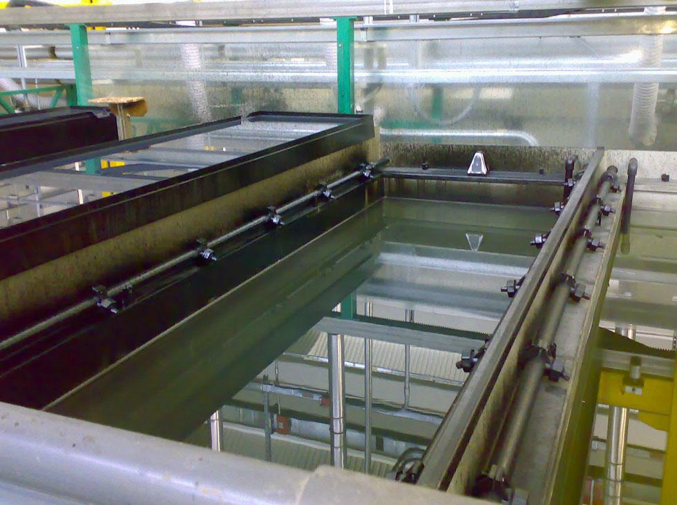 Impianto Verniciatura Cataforesi - Vasche applicazione cataforesi